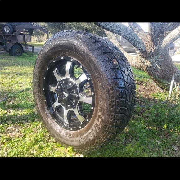 Moto metel rims 17 inch rim 31 inch tire